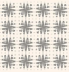 Cross hatch seamless pattern texture of mesh net vector