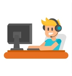 Gaming vector image