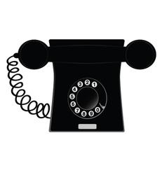 Phone black vector