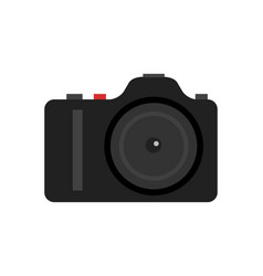 professional digital photo camera icon vector image