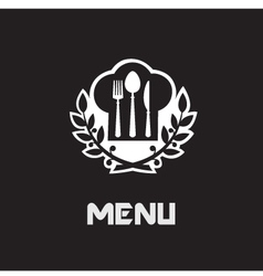 Restaurant menu banner vector