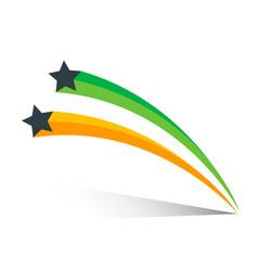 star icon logo design template elements vector image