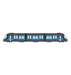 subway car flat isolated on white vector image