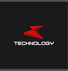 Technology x cyber security logo design vector