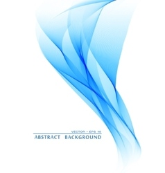 Wavy abstract bacground vector