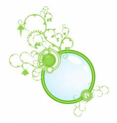 green concept banner vector image