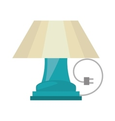 table lamp house appliance decorative vector image vector image