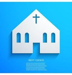 Christian background Eps10 vector image