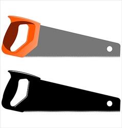 hacksaw vector image