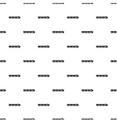 Reserved carriages pattern seamless vector
