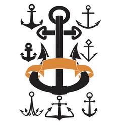 Set anchors vector