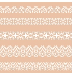Set of borders vector image