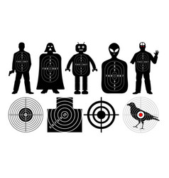Target for shooting vector