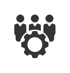 Technical team icon vector