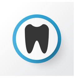 Tooth icon symbol premium quality isolated claw vector
