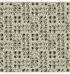 ornate textured background vector image vector image