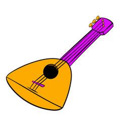 balalaika icon cartoon vector image vector image