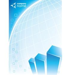 corporate business design vector image