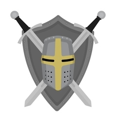 Knight embltm vector image