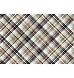Brown blue diagonal fabric seamless pattern vector image
