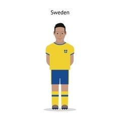 Football kit sweden vector
