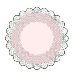Guilloche rosette rosette elements for vector