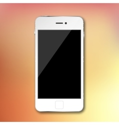 isolated mobile phone smartphone on vector image