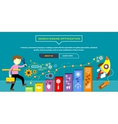 SEO Optimization Concept vector image