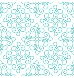 Simple seamless pattern background vector image vector image