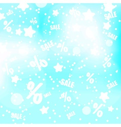 abstract blue and gray dots stars and sale vector image