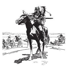 black hawk tragedy vintage vector image