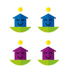 Happyhouses2 vector