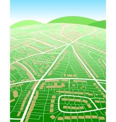 Land map vector
