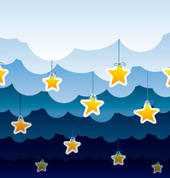 Night background pattern vector