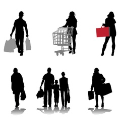 Shopping 2 vector