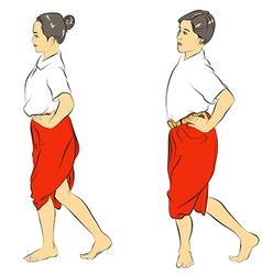 Thai Dance vector