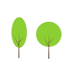 Tree clip art vector image