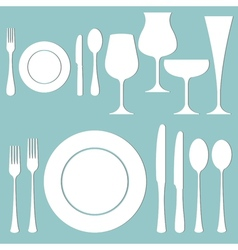 Formal dinner vector image vector image