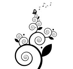 Singing Little Birdie vector image