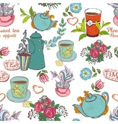 tea seamless vector image