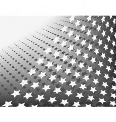stars in stripes vector image