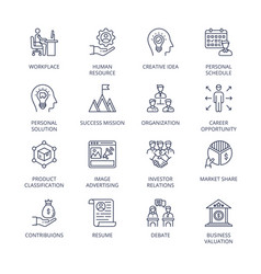 business management process vector image