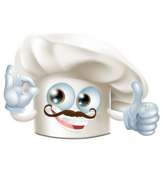 cook cartoon man vector image