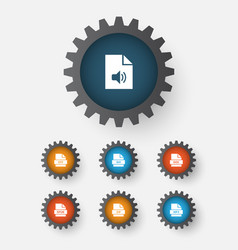 File icons set collection of organize otf doc vector
