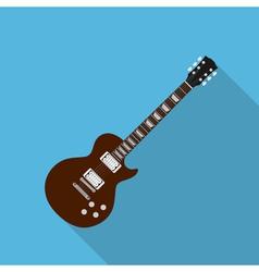 Flat guitar 2 vector