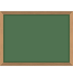 Green School Board Clean Blackboard Acces vector