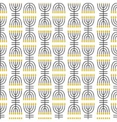 Hanukkah seamless pattern hanukkah simbols vector