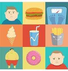 Junkfood vector image