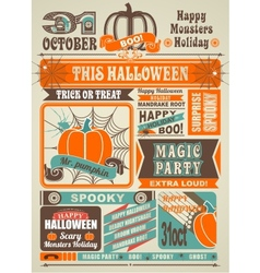 News Newspaper Festive Halloween vector image