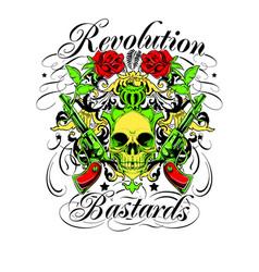 Revolution bastards vector